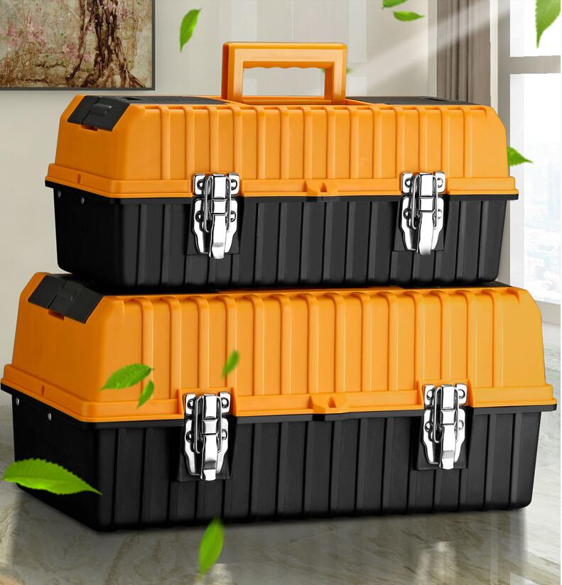 Plastic sealed box safety equipment explosion proof suitcase tool box collision proof four color foam sign anti collision tool b
