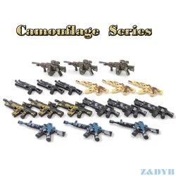 Одна распродажа, комплекты военного оружия, пистолет, солдат, армия WW2, фигурка, Полицейский спецназ, Бэтмен, модель, строительный блок, кирпи...