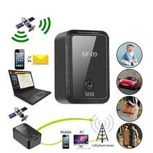 Pet Key Car GPS Tracker GF-09 APP Control GPS Locator Vehicle Car Person Location Spy Devices Anti-Lost Recording GPS Vehicle cheap 3 5cm*2 0cm*1 4cm As Description Show