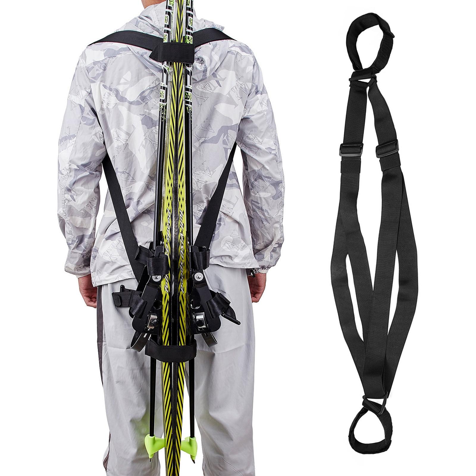 Для сноуборда аксессуары для лыж Лыжная через плечо с солнечным зарядным устройством ремня фиксированный ремень повязки ручной регулируемый, для спорта на открытом воздухе