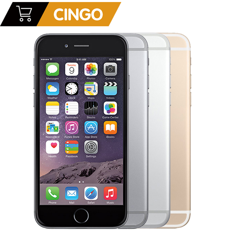 Original Apple iPhone 6 Plus IOS 16/64/128GB ROM 5,5 zoll IPS 8.0MP Fingerprint 4G LTE smart Telefon WIFI GPS Verwendet iPhone 6 plus