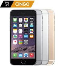 Original apple iphone 6 plus ios 16/64/128 gb rom 5.5 polegada ips 8.0mp impressão digital 4g lte telefone inteligente wifi gps usado iphone 6 plus