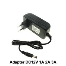 Адаптер DC12V AC100-240V Трансформаторы освещения выход DC12V 1A/2A/3A блок питания для светодиодной ленты