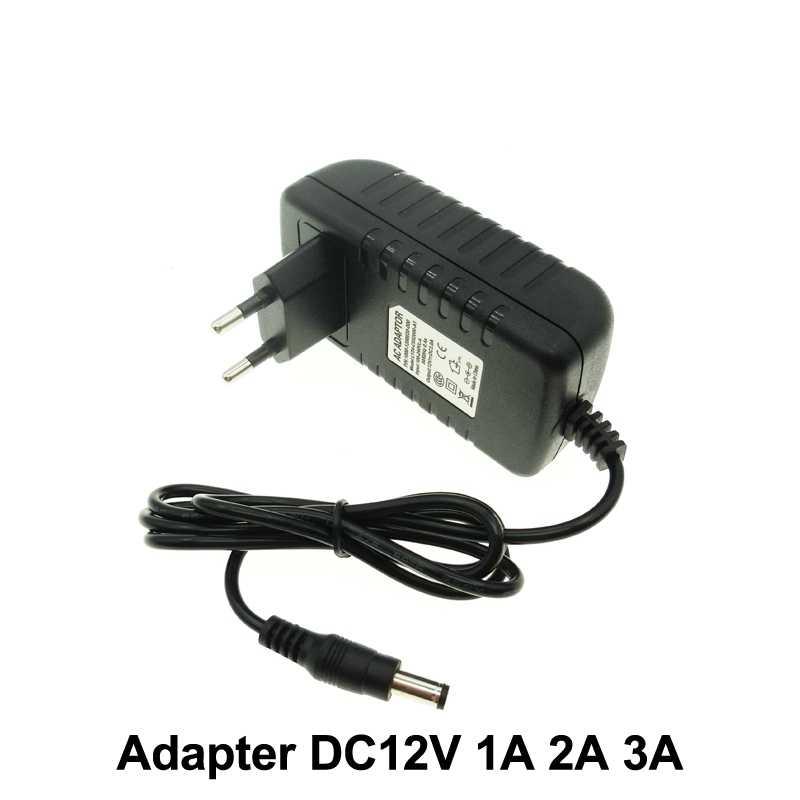 DC12V Adapter AC100-240V transformatory oświetleniowe się umieścić DC12V 1A/2A/3A zasilacz do LED Strip