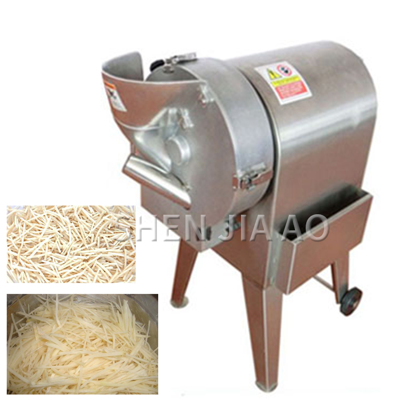 220V Electric Vegetable Cutter Cutting Machine Vegetable And Fruit Processing Machine Restaurant Hotel Kitchen Essential