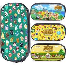 Animal crossing pencil case zipper bags kids children pen holders