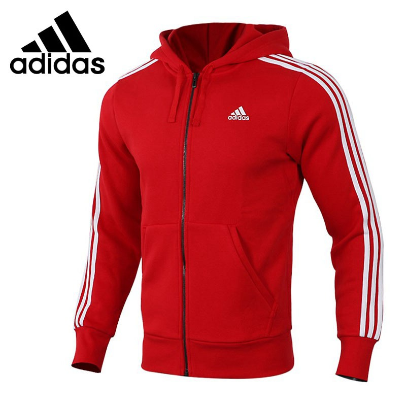 Original New Arrival Adidas ISC HTT FLC 3S Mens Jacket Hooded Sportswear Comfortable CZ7357