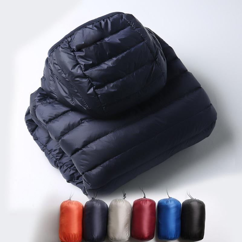 New streetwear Winter Men clothing   Down   jackets Parkas   coats   Thicken keep warm outdoor outerwear hoodies Jackets