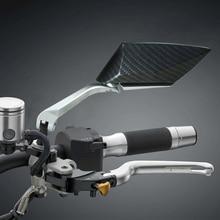 Xe Máy Mặt Gương Nhôm CNC Chiếu Hậu Mặt Gương Đa Năng Dành Cho Xe Honda 125 250 300 Cb 400 Nmax 155 Benelli Tnt 125