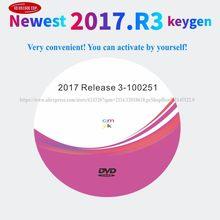 2021 nova chegada 2017. r3 com keygen em dvd/link software e suporte de vídeo instalação 2017 modelos carros caminhões para delphis
