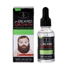 Men Growth Beard Oil Organic Beard Wax Balm Avoid Beard 100% Natural Hair Loss