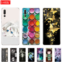 "silicon case For 5.84"" Huawei P20 Lite huawei p20 pro case back phone cover for HUAWEI P 20 protective Coque bumper clear paint(China)"