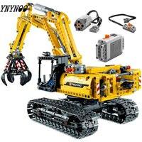 Presale Technic Excavator Compatible Legoing Technic Truck Model Building Blocks Boys Birthday Gift Toys for Children 42006
