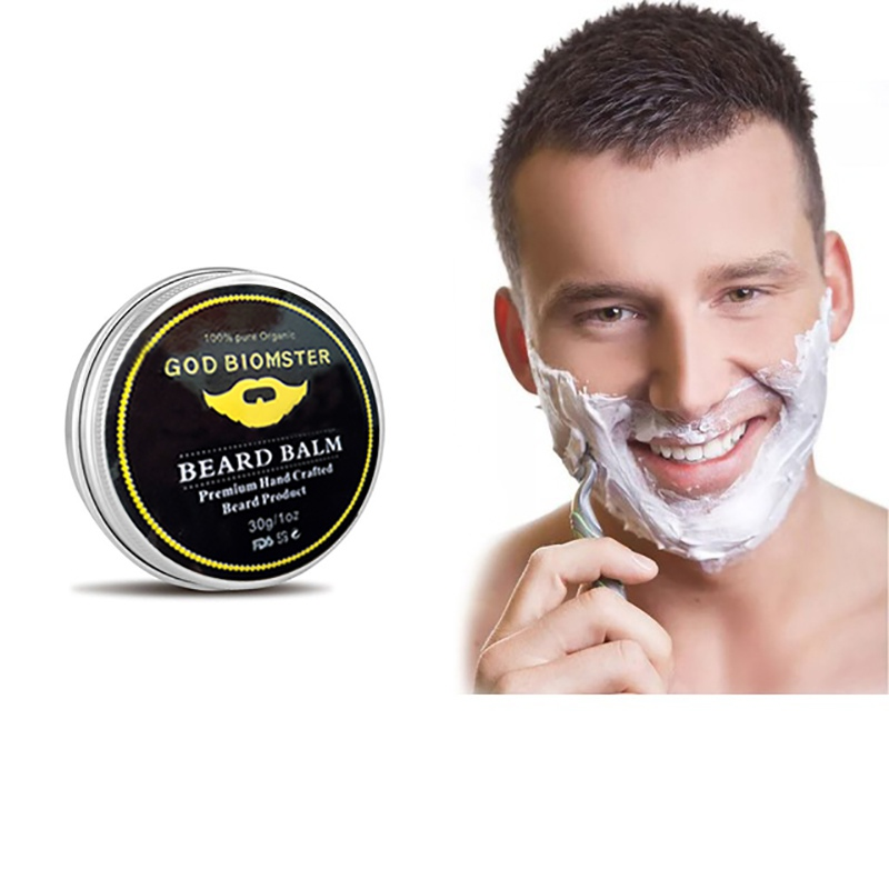 Treatment Beard Wax Oil For Men Care Cream Solid Essential Oil Shaving Cream Beard Growth Grooming Care Shape