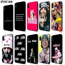 IYICAO Lil Xan Lilxan Rapper Soft Black Silicone Case for iPhone 11 Pro Xr Xs Max X or 10 8 7 6 6S Plus 5 5S SE new original h5cn xan