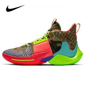 Nike Air Jordan Why Not Zer0.2 All-Star Мужская баскетбольная обувь Jordan высокие кроссовки женские дышащие спортивные ботинки