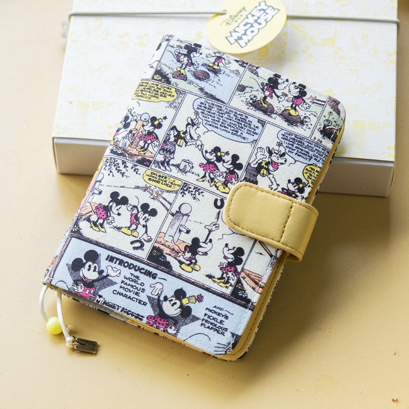 Cool Vintage Fashion Mickey Diary Book A6 128 Sheets 2020 Undated Monthly Daily Planner Stationery Gift