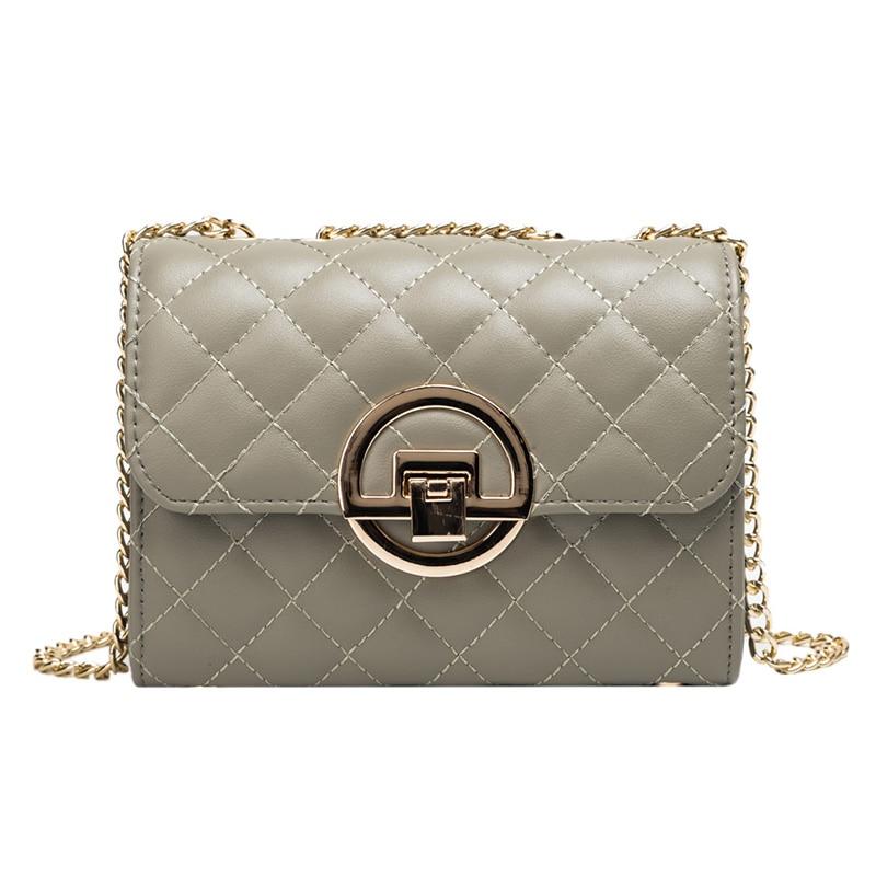 2019 New Women Bag Large Capacity Shoulder Hand Crossbody Fashion Chain