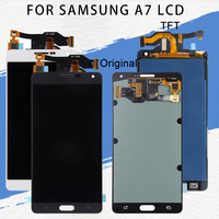 Promotion A700 Lcd For Samsung Galaxy A7 2015 Lcd With Touch Screen Digitizer Assembly A700F A700H A700K Display Free Shipping