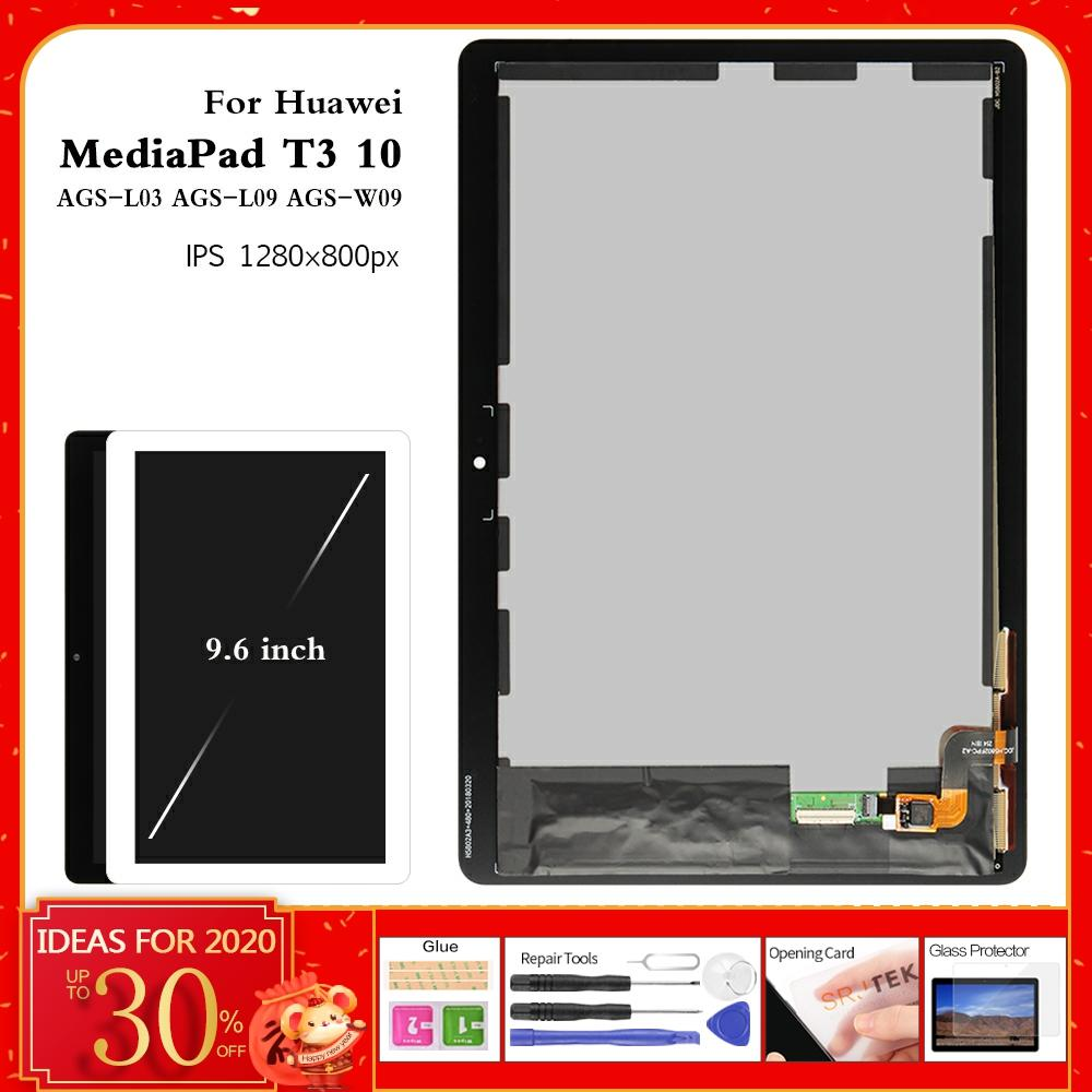 For Huawei T3 10 Display For Huawei MediaPad T3 10 AGS-L09 AGS-L03 AGS-W09 LCD Display Matrix Touch Screen Digitizer Assembly