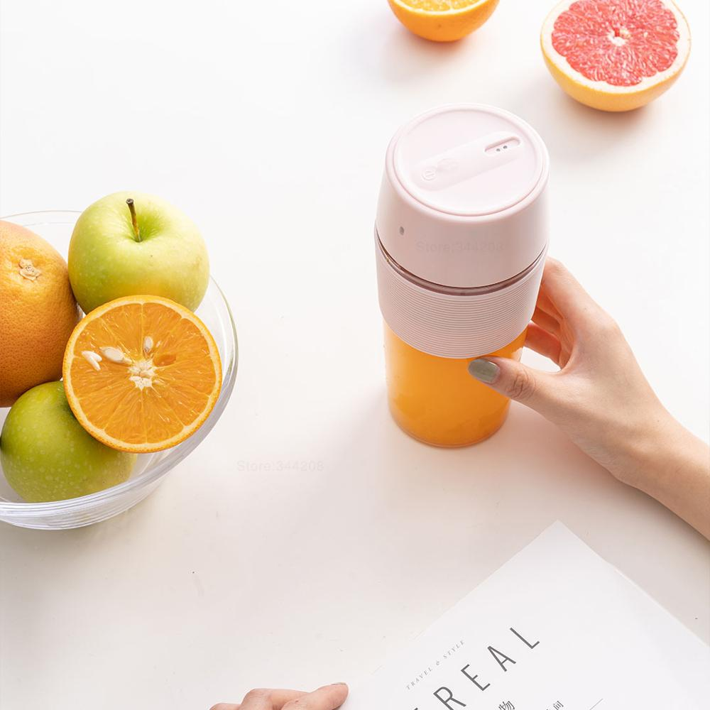 XIAOMI MIJIA Bud BR25E Blender Portable Fruit Cup Electric Kitchen Mixer Juicer food processor Machine XIAOMI MIJIA Bud BR25E Blender Portable Fruit Cup Electric Kitchen Mixer Juicer food processor Machine 300ML Magnetic charging