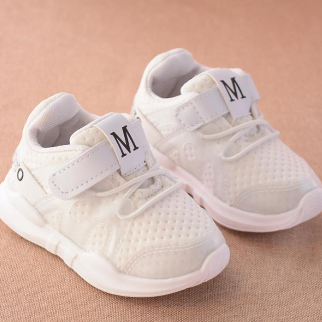 Kids Shoes 2020 Fashionable Breathable Pink Leisure Sports Running-Shoes for Girls White Sneakers Boys High Brand Shoes