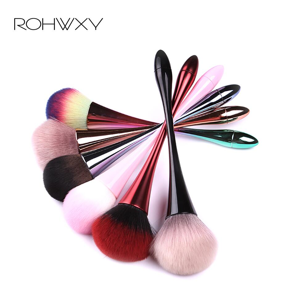 ROHWXY Nail Art Brush Soft Nail Dust Brush UV Gel Nail Polish Nylon Brush For Manicure Professional Nail DIY Design Tools