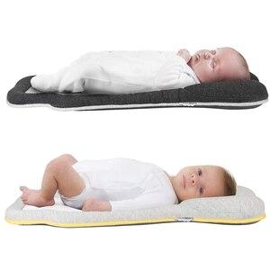 Image 5 - Cozymat 0 6 miesięcy głowa jakościowa poduszka niemowlę pozycjonowanie poduszka lateksowa poduszka dla dziecka noworodka poduszka do spania