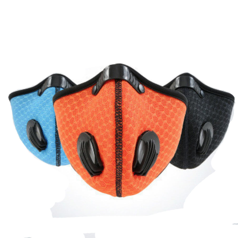 Mascarillas Dustproof Anti-fog Breathable Face Masks With Filter Activated Carbon Breathing Filters Fpp3 Mask Fpp3mask