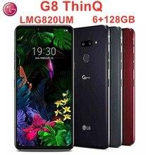 LG G8 ThinQ LMG820UM, 128 Гб ПЗУ, 6 ГБ ОЗУ,, LTE, Android, четыре ядра, 6,1 дюймов, Snapdragon 855, NFC, 8 Мп, фронтальная камера с камерой Z
