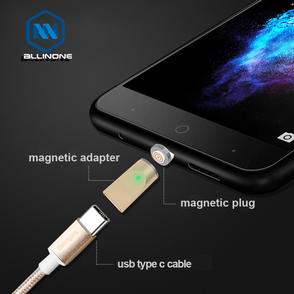 Allinone Magnetic USB Type C Adapter /Micro/usb Type C Port Charger And Data Magnet Adapter For Micro Usb Type C
