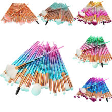 20Pcs/Set Multicolor Makeup Brushes Set Eye Shadow Foundation Powder Eyeliner Eyelash Lip Make Up Brush Cosmetic Beauty Tool Kit 20pcs set multicolor makeup brushes set eye shadow foundation powder eyeliner eyelash lip make up brush cosmetic beauty tool kit