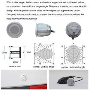 Image 4 - Kit sistema di assistenza sensore di parcheggio ad ultrasuoni per auto parktronic radar di retromarcia auto parkmaster retroilluminazione Display buzzer di parcheggio
