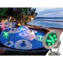TWISTER. CK светодиодный светильник из нержавеющей стали для подводного плавания, светильник для бассейна, светильник для подводного плавания, водонепроницаемый светильник для бассейна