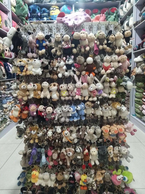 10cm Lovely Stuffed Animals Plush Toy, Cute Plush Pendant, Keychain, Keyholder Gift Free Shipping