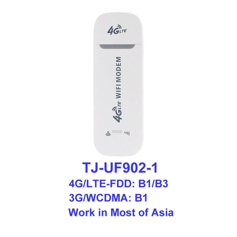 4G LTE USB Modem Network Card 100Mbps 4G LTE Adapter Wireless USB Network Card  WiFi Modem