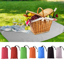 1x1.4/1.4x2M Pocket Picnic Waterproof Beach Mat  Blanket Camping Outdoor Picknick Tent Folding Cover Bedding 3Size