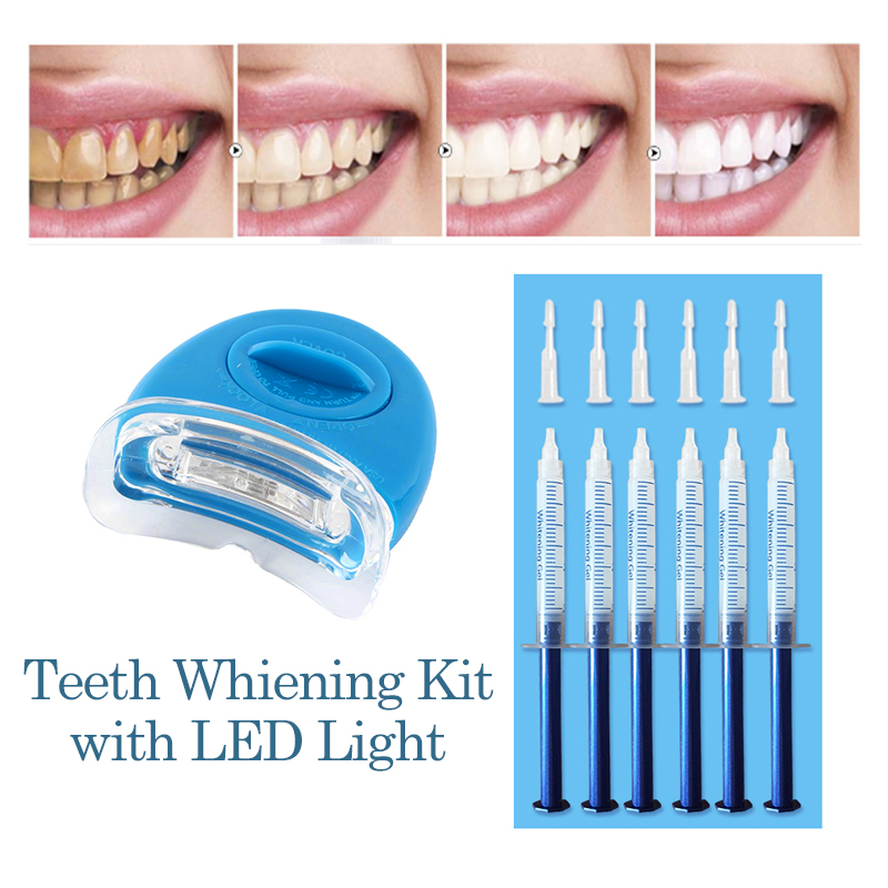 New Teeth Whitening Kit With Led Light 44 Peroxide Dental