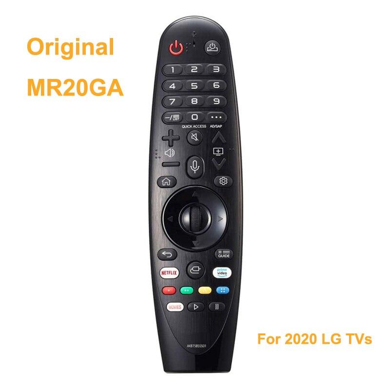 Nova voz original mr20ga magia controle remoto akb75855501 para 2020 lg ai thinq 4k smart tv nano9 nano8 zx wx gx cx bx series