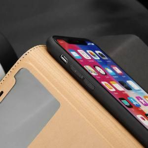 Image 3 - Echt Leer Case Voor Iphone 7 8 Plus Case Voor Xs Max Cover Window View Bescherming Coque Voor Iphone X xr Se 2020 Gevallen Fundas