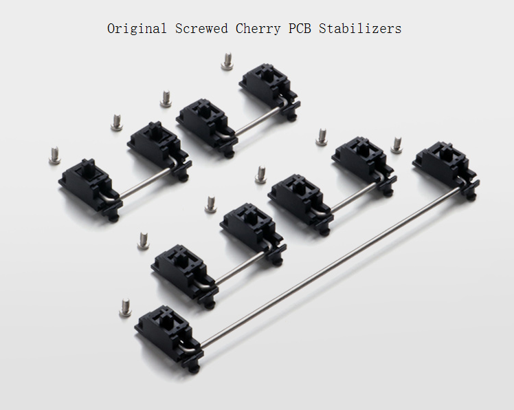Original Cherry PCB Stabilizer With Screws PCB Mounted Stabs