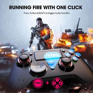 Image 4 - PICTEK PC263 Wireless Gamepad Bluetooth PS4 Controller For Playstation 4 With Audio Port Dual Vibration LED Light For PC Android