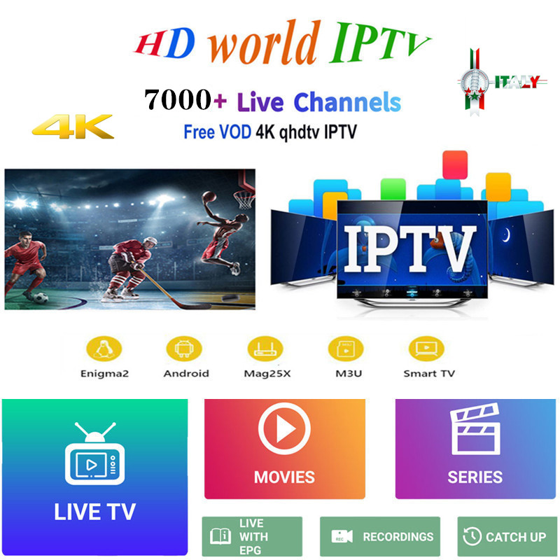 1 Year Europe IPTV Subscription France UK German Italy French Spain Portugal For Smart TV IPTV M3U Enigma2 Android VLC