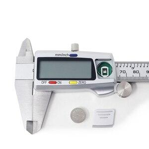 Image 5 - Metalen 0 150Mm/0.5Mm Carbon Staal Fiber Schuifmaat Gauge Micrometer Meetinstrumenten