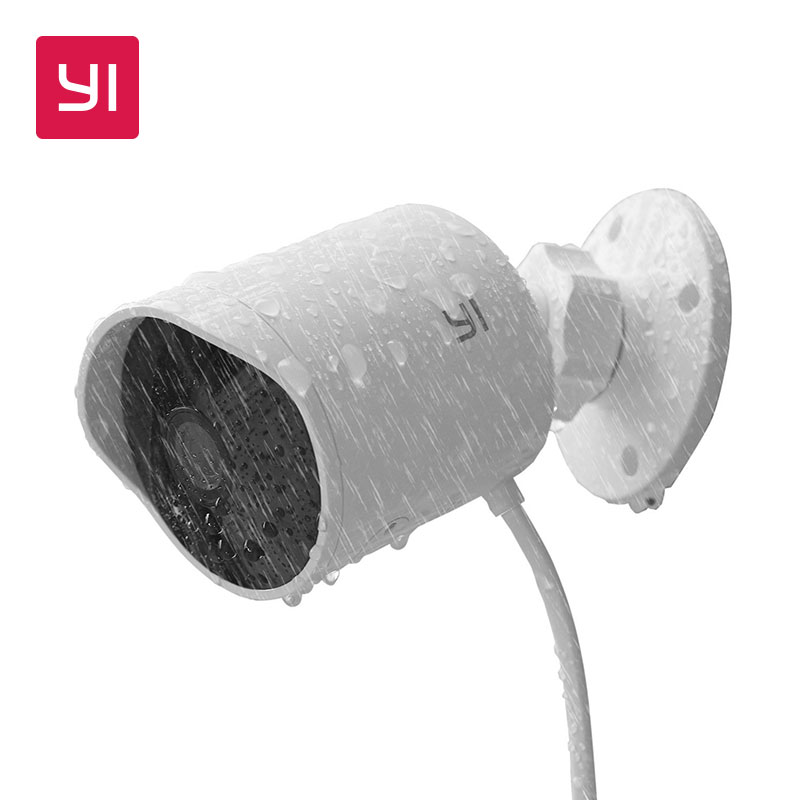 YI outdoor security camera 1080p cloud storage wifi 2.4G IP cam weatherproof infrared night vision motion detection home Cameras|camera cloud|wireless ipoutdoor security camera - AliExpress