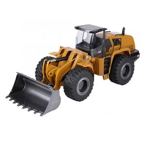 Image 4 - Huina 583 10CH RC Excavator Car 2.4G 1:14 RC Truck Remote Control Metal Arm Excavator Engineering Vehicle kids Toy Gift
