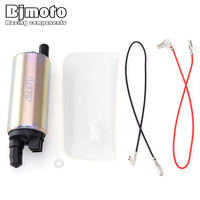 BJMOTO For Kawasaki Auto High Flow Electric Fuel Pump with Filter Installation Tool 49040 0027 490400027 49040 0767 490400767