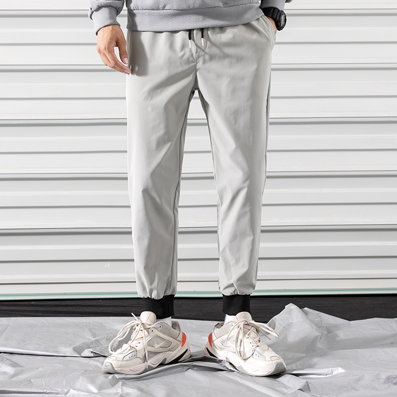 High Quality Men Casual Pants Soft Jogging Working Pants Mens Loose Trousers Male Spring Summer Cloth Ropa Interior Streetwear 6