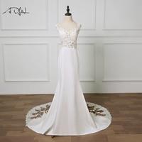 ADLN 2020 New Mermaid Wedding Dresses Lace Bridal Gowns Bohemian Vestidos de Novia Customized