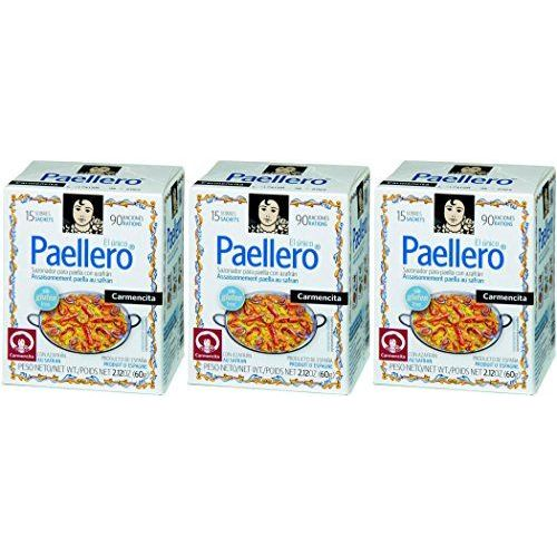 Carmencita Paella Seasoning 15 Sachets - [Pack 3]